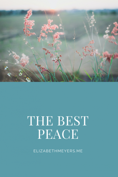 The Best Peace