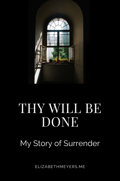 Thy Will Be Done my story of surrender