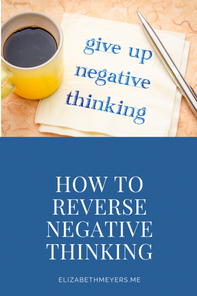Quit Negative Thinking Now!